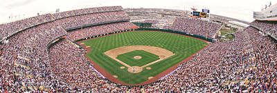Bleachers Photograph - Coors Field Panoramic by Retro Images Archive