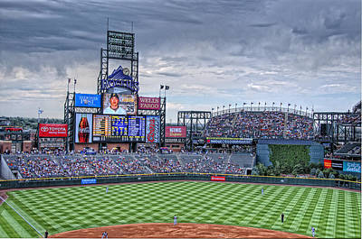 Third-oldest Photograph - Coors Field by Ron White