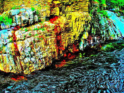 Photograph - Coos Canyon 340 by George Ramos