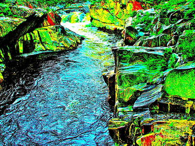 Photograph - Coos Canyon 373 by George Ramos