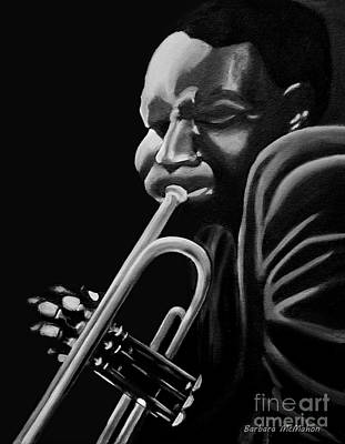 Painting - Cootie Williams by Barbara McMahon