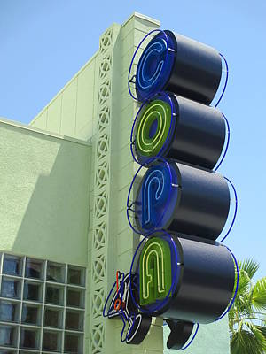 Photograph - Copa Sign by Randall Weidner