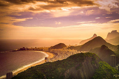 Photograph - Copacabana Beach by Celso Diniz