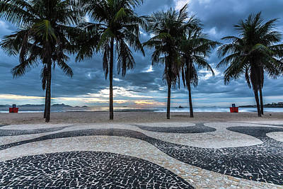 Scenic Photograph - Copacabana by Marcelo Freire Photography
