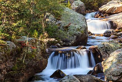 Photograph - Copeland Falls 2 by Ben Graham