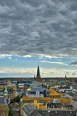 Photograph - Copenhagen Cloudscape by Steven Richman