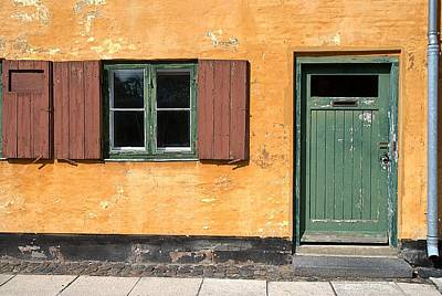 Photograph - Copenhagen Door And Window by Steven Richman