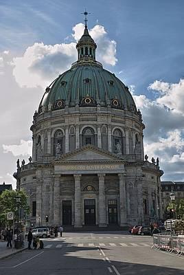 Church Photograph - Copenhagen Marble Church by Steven Richman
