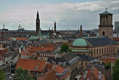 Photograph - Copenhagen Spires by Steven Richman