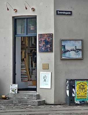 Door Photograph - Copenhagen Svendsgade by Steven Richman