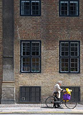 Photograph - Copenhagen The Purple Bag by Steven Richman