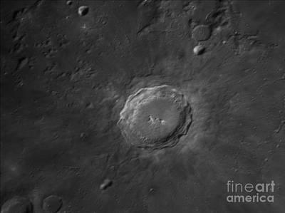 Copernicus Crater Print by John Chumack