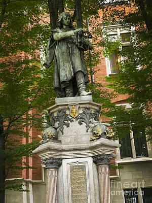 Photograph - Copernicus Statue In Krakow by Brenda Kean