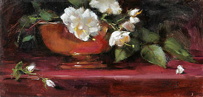 Painting - Copper Bowl by Chris  Saper