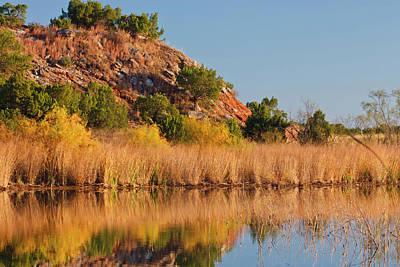Copper Breaks State Park In Autumn Art Print