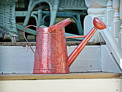 Photograph - Copper Can by Linda Brown