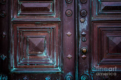 Photograph - Copper Door 2 by Susan Cole Kelly