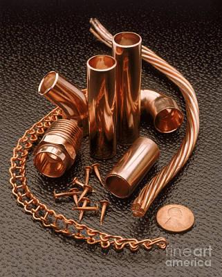 Copper Art Print by Erich Schrempp
