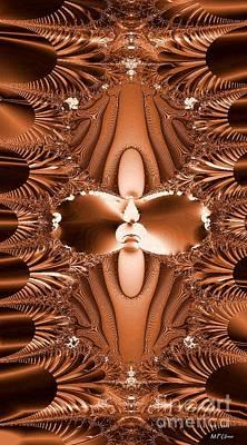 Digital Art - Copper Flame by Maria Urso