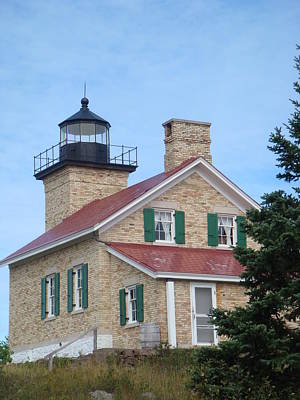 Photograph - Copper Harbor Lighthouse 6 by Bonfire Photography