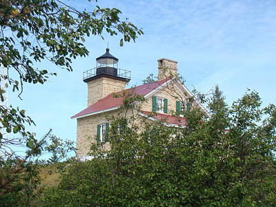 Photograph - Copper Harbor Lighthouse 8 by Bonfire Photography