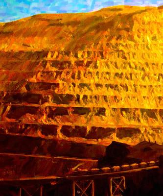 Digital Art - Copper Hoppers by Chuck Mountain