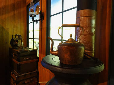 Photograph - Copper Kettle #2 by Jacqueline  DiAnne Wasson