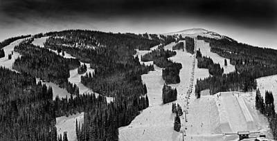 Chairlift Photograph - Copper Mountain Colorado by Brendan Reals