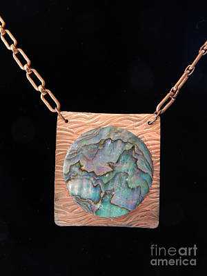 Jewelry - Copper Pearl by Patricia  Tierney