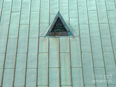 Photograph - Copper Roof by Ethna Gillespie