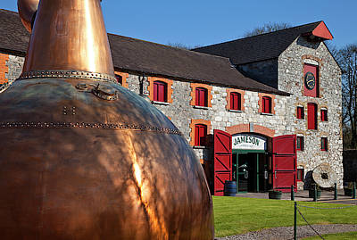 Eire Photograph - Copper Still At Midleton Whiskey by Panoramic Images