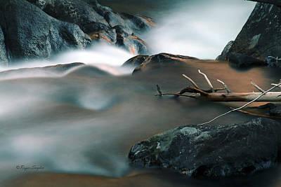 Copper Stream 2 Art Print