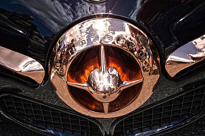 Photograph - Copper Studebaker Grill by Sharon Popek
