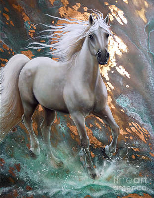 Painting - Copper Sundancer - Horse by Sandi Baker