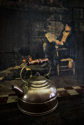 Photograph - Copper Teapot by Debra and Dave Vanderlaan