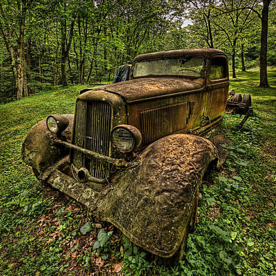 Art Print featuring the photograph Copper Truck by Wendell Thompson