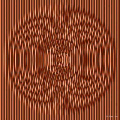 Digital Art - Copperdance by WB Johnston