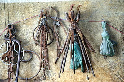 Photograph - Coppersmith Tools by Debi Demetrion