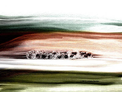 Copse Art Print by Lenore Senior