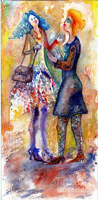 Coquette Art Print by Milen Litchkov