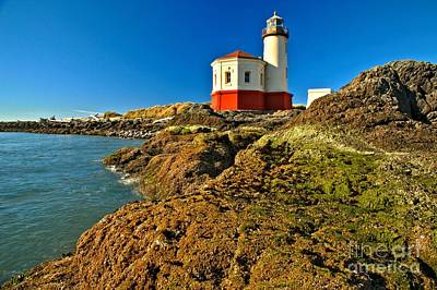 Photograph - Coquille Lighthouse by Adam Jewell