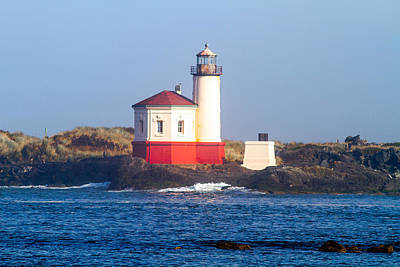 Coquille Lighthouse Art Print
