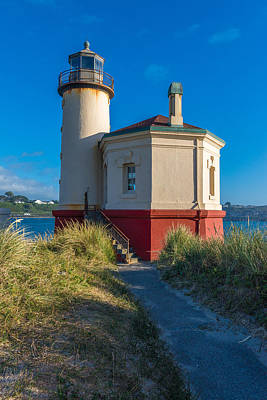 Photograph - Coquille Lighthouse by James Hammond