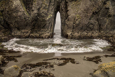 Photograph - Coquille Point Bandon Beach by Lee Kirchhevel