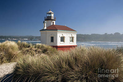 Photograph - Coquille River Lighthouse by Peter French