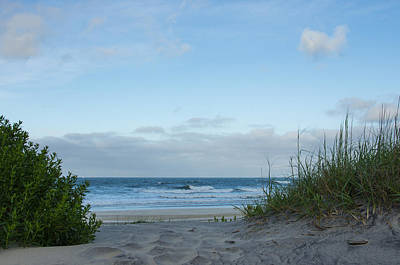 Art Print featuring the photograph Coquina Beach by Gregg Southard