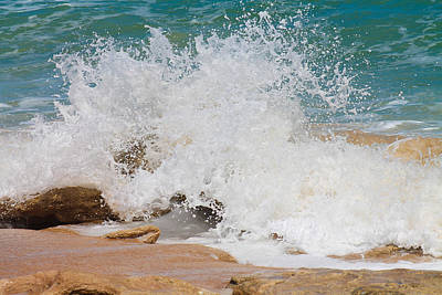 Photograph - Coquina Waves by Jessica Brown