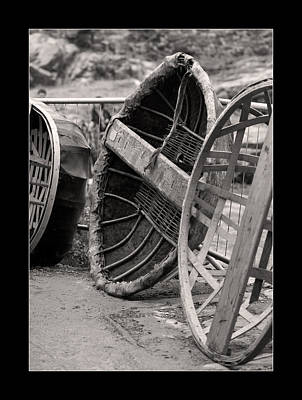 Photograph - Coracles by Liz  Alderdice