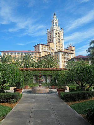 Photograph - Coral Gables Biltmore Hotel 6 by Jeff Brunton