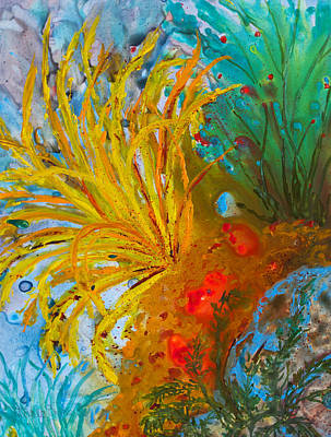 Painting - Coral Garden by Patricia Beebe